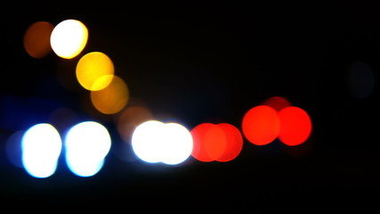HD - Lights of the big city. traffic_scene01