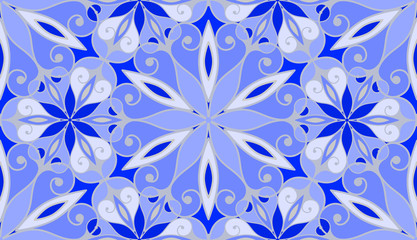 Frosted glass seamless pattern