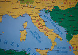 Detailed map of Italia - 36648095