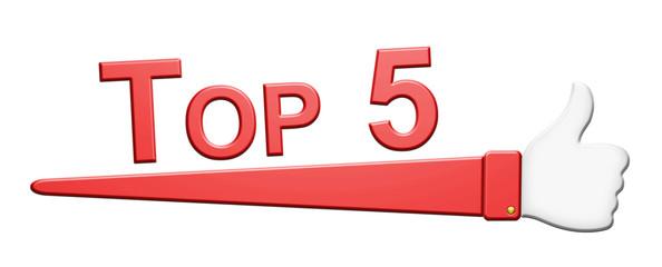 """""""Top 5"""" Symbol"""
