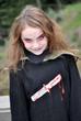 halloween fillette déguisée