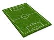 Das Fußballfeld