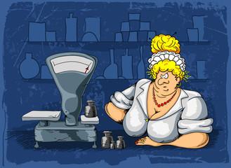 Saleswoman