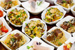 Fischbuffet 1: verschiedene Vorspeisen I