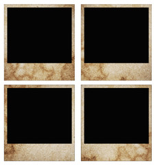 blank grunge photo frame ready to be populated with any imag