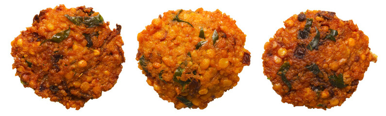 close up of indian masala vada