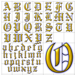 abc alphabet background rochester design