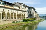 Embankment of Arno river poster