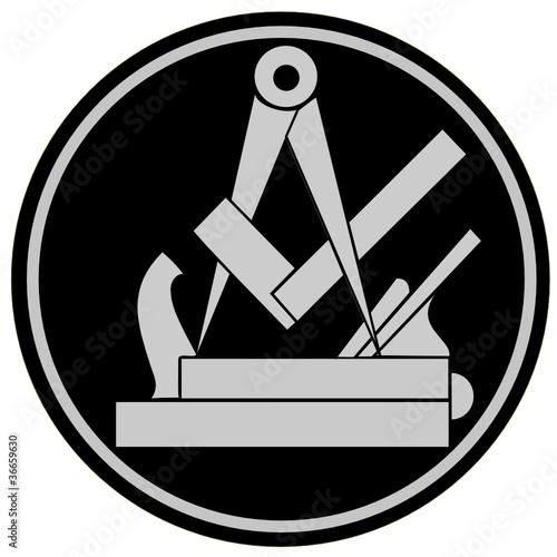 Tischler Zeichen gamesageddon handwerk zunftzeichen schreiner lizenzfreie fotos