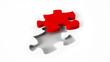 Red Jigsaw