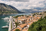 Beautiful view of Kotor Bay