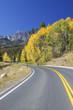 Colorado Mountain Highway in Fall