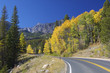Rocky Mountain Highway in Fall