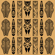 African decorative pattern