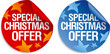 Special Christmas offer stickers set