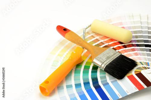 Leinwanddruck Bild Farbauswahl