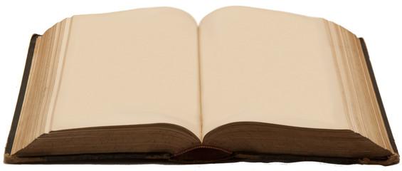 Aufgeschlagenes antikes Buch