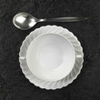 soup plate and spoon