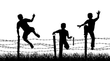 Fence boys