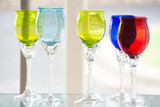 Colorful Glasses in the Glass Art Shop - 36670255