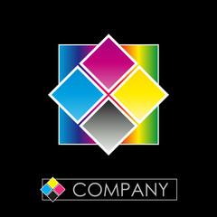 Logo CMYK print # Vector