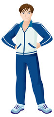 Sport Mascot Male Standing