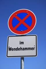 Absolutes Parkverbot im Wendehammer
