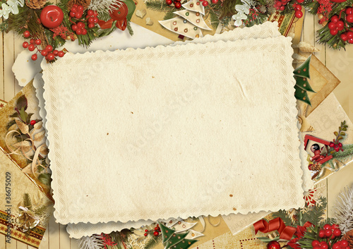 Holiday's greeting card - 36675009