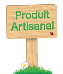 """Panneau """"Produit Artisanal"""""""