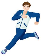 Sport Mascot Male Running