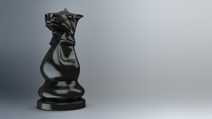 Black knight loop 3d animation