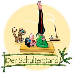 Hatha Yoga Asanas: Der Schulterstand