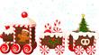 Christmas train - 36684477
