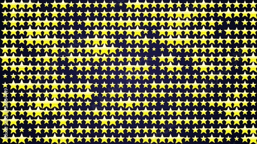 Yellow Star Background LOOP - HD1080