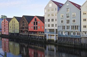 Trondheim, historische Speicherhäuser