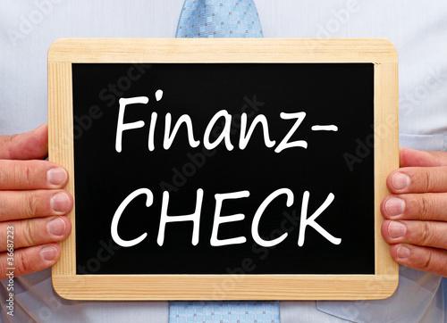 Finanz Check - Geld und Vermögen