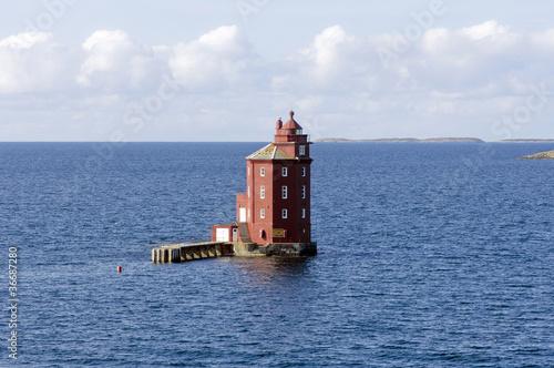 Fototapeten,leuchtturm,see,gaul,skandinavien