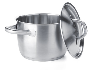 Stainless steel pot with cover