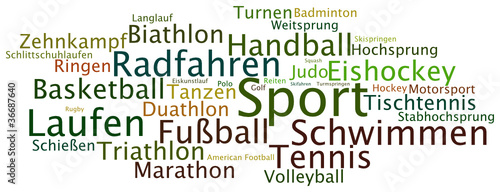 Tag Cloud Sport