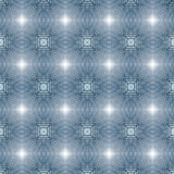 Abstract blue repetitive pattern poster