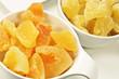 Obst - kandiert - Melone und Ananas