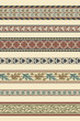 Set of seven decorative borders ornamental