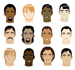 Mens Faces 5