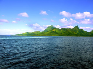 Island of Moorea (French Polynesia)