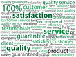 SERVICE-QUALITY-SATISFACTION Tag Cloud (customer reliability)