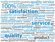 SERVICE-QUALITY-SATISFACTION Tag Cloud (satisfied customer)