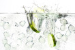 canvas print picture - gin tonic