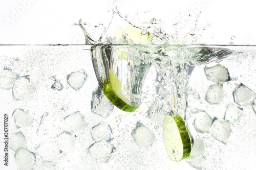 canvas print picture gin tonic