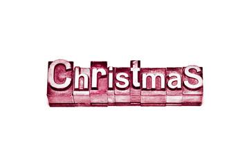 caratteri tipografici - christmas