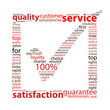SERVICE-QUALITY-SATISFACTION Tag Cloud (tick marketing customer)